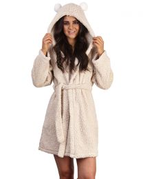 Loungeable Pom Ear Sherpa Robe