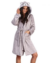 Loungeable Raccoon Dressing Gown