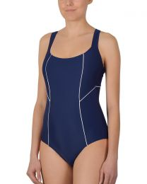 Naturana Sport Swimsuit - Navy