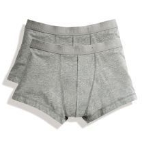 Mens Fruit of the Loom Classic Shorty Underwear 2 Pack